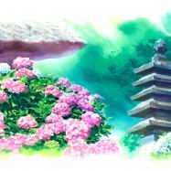 鎌倉紫陽花