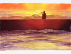 この絵はBattery Chargerさんのお写真を参考に描いています。どうもありがとうございます。