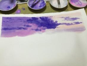 乾かないうちに塗るのがポイントです