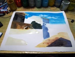 部分から塗ってもいいですが全体を塗るのが個人的には良いかと思います。